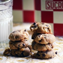 Gluten Free Fluffernutter Chocolate Chip Cookies