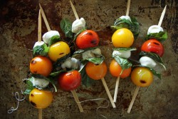 Grilled Caprese Kebabs Recipe