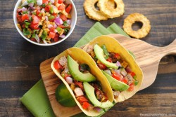Grilled Pork Tacos with Pineapple Salsa Recipe