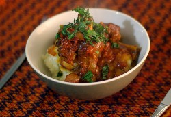 Lamb Shanks in Tomato Sauce