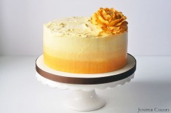 Lemon Lime Cake with Passionfruit Buttercream Recipe