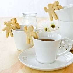 Lemon Tea Cookies for Cups