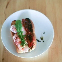 Lobster Rolls with Roasted Tomatoes Recipe