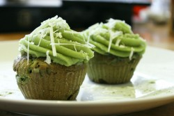 Matcha Green Tea Vanilla Cupcakes Recipe