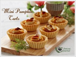 Mini Pumpkin Tarts Recipe