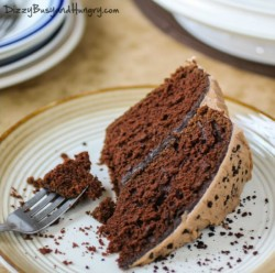 Mocha Cake with Hazelnut Frosting Recipe