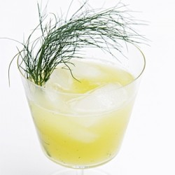 Pineapple Agua Fresca with Fennel Greens Recipe