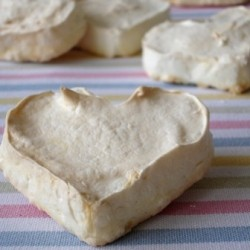 Rose Water Meringue Hearts