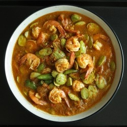 Sambal Udang Petai Indonesian Shrimp and Stink Beans Recipe