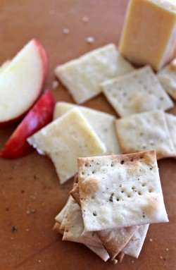 Sea Salt Black Pepper Crackers Recipe