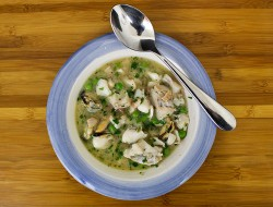 Seafood Ragout with Haddock and Mussels