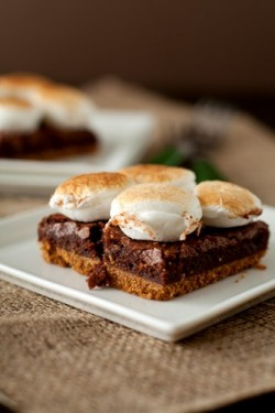 Smores Brownie Bars