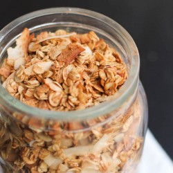 Spiced Coconut Almond Granola Recipe