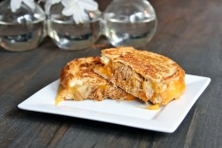 Spicy Pork Grilled Cheese