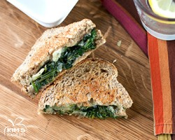 Spinach Artichoke Grilled Cheese Sandwich Recipe