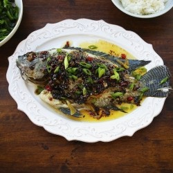 Steamed Tilapia With Spicy Oyster Sauce Recipe