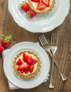 Strawberry Cream Cheese Tart Recipe
