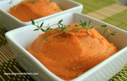 Sweet Potato Puree with Nutmeg