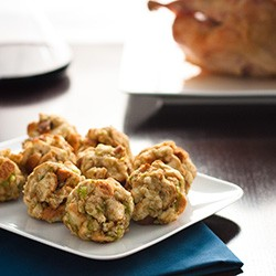 Thanksgiving Turkey Stuffing Balls
