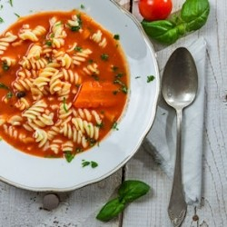 Tomato Soup with Basil and Herbs Recipe