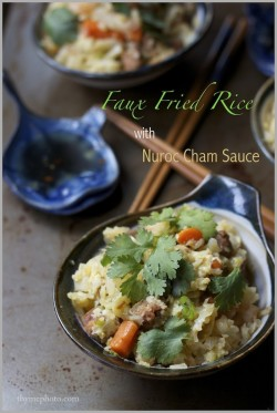 Vietnamese Cauliflower Fried Rice Recipe