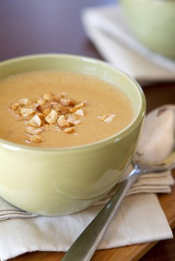 Virginia Style Peanut Butternut Squash Soup