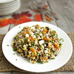 Wheatberry Wild Rice Butternut Squash SAlad