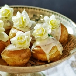White Chocolate Profiteroles Recipe
