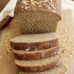 Whole Wheat Honey Oatmeal Bread REcipe