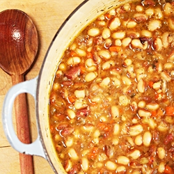 Yellow Eye Bean Soup