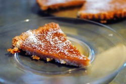 Apple Cider Maple Tart
