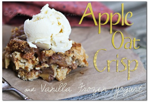 Apple Oat Crisp Vanilla Frozen Yogurt