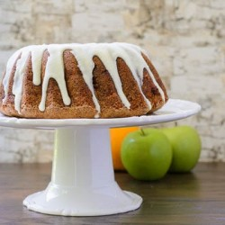 Apple Swirl Bundt Cake With Browned Butter Glaze Recipe
