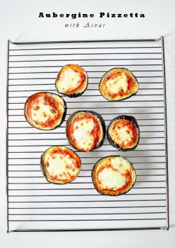 Aubergine Mini Pizzas Recipe