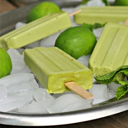 Avocado Ice Pops Recipe