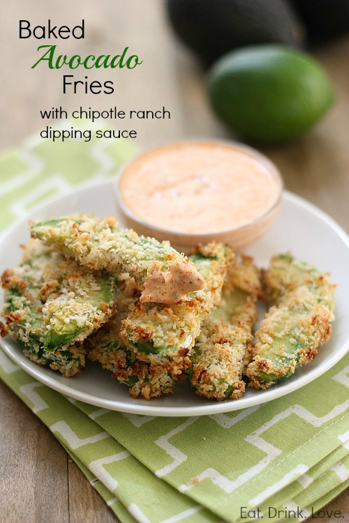 Baked Avocado Fries Recipe