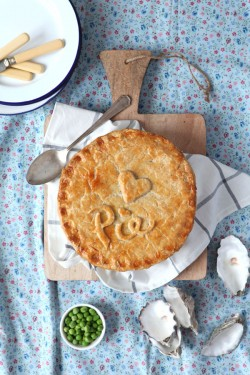 Beef Stout Oyster Pie Recipe