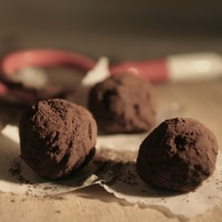 Bitter Chocolate Truffles Recipe