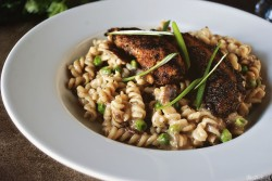 Blackened Chicken Mac and Cheese