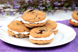 Brown Butter Chocolate Melt Sandwich Cookies Recipe