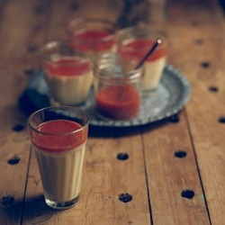 Cardamom Panna Cotta and Blood Orange Compote Recipe