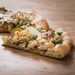 Cauliflower Cream Cheese Jalapenos Pizza Recipe
