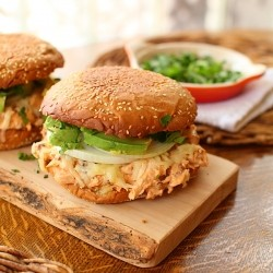 Cemita Poblana with Adobo Chicken Recipe