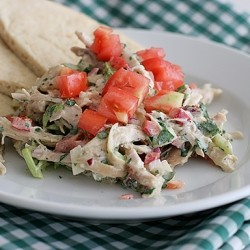 Chicken Salad with Yogurt Ranch Dressing