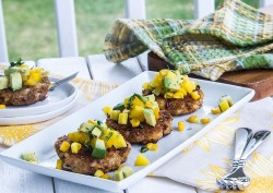 Chipotle Crab Cakes with Avocado Mango Salsa Recipe