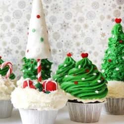 Christmas Winter Wonderland Cupcakes Recipe