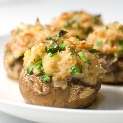 Clam Stuffed Mushrooms
