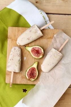 Coconut Fig Popsicles Recipe