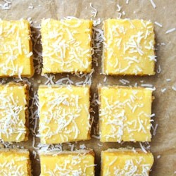 Coconut Lemon Squares Recipe