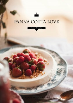 Coconut Milk Panna Cotta with Rhub